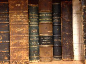 Grand Lodge of Louisiana Civil War Era Proceedings