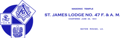 St James Lodge Logo