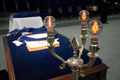St. James Lodge #47 Freemason Altar