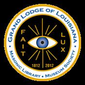 Grand Lodge of Louisiana Masonic Library Museum Society Logo
