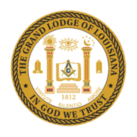 Grand Lodge of Louisiana Seal
