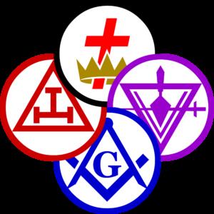 York Rite Masonry Pinwheel