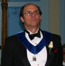Ben Melanson - Chaplain of St. James Lodge #47 in 2003