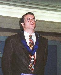 David C Martinez - Sr. Steward of St. James Lodge #47 2002