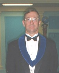 Mark Paxton - Jr. Deacon of St. James Lodge #47 in 2003